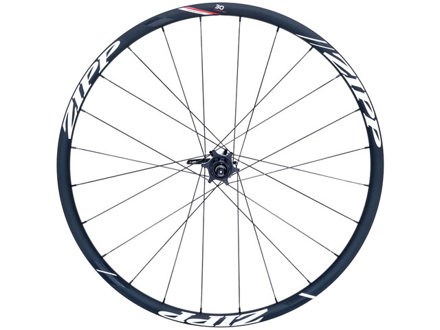 Zipp 30 Course Disc Clincher Rear Wheel 24 hole black/white stickers